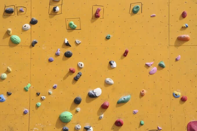 Positivity Rock Climbing Hold